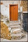 Door and stair in El Jadida