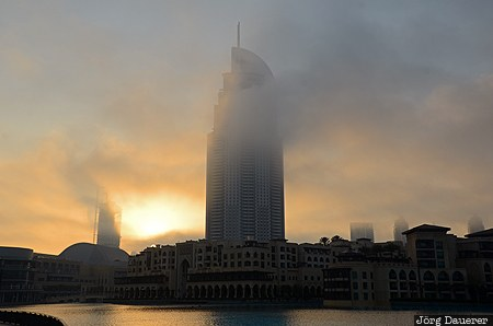 ARE, Dubai, Dubayy, UAE, Um Suqaim Second, United Arab Emirates, backlit