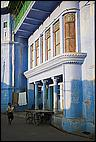 Blue facade in Pushkar