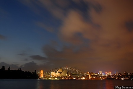 New South Wales, Australia, Sydney, blue hour, sky, clouds, night