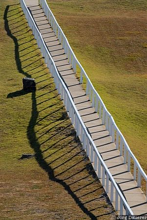 Australia, Victoria, Cape Otway, footpath, lane, alley, shadow