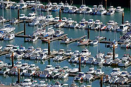Fécamp, FRA, France, Haute-Normandie, Normandy, above, boats
