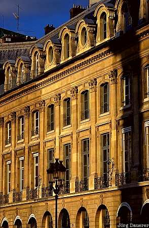 Paris, windows, France, evening light, Europe, Frankreich, Europa, Ile De France