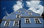 Blue house in Memmingen