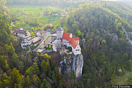 Bavaria, Burg Prunn, castle, DEU, Germany, green, lime rock, Riedenburg, Deutschland, Bayern