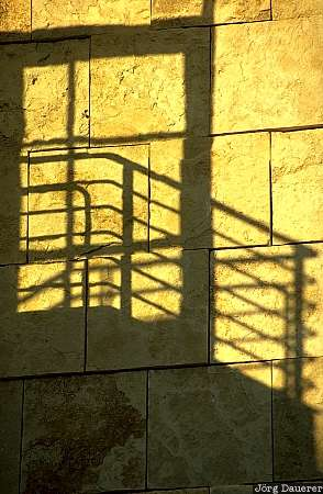 the getty, getty museum, Los Angeles, shadow, staircase, California, United States