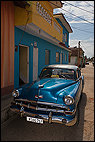 Classic Car in Trinidad