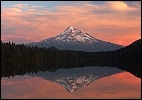 Sunset over Mount Hood